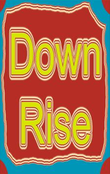 Down rise poster
