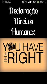 Declaração Direitos Humanos poster