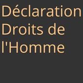 Déclaration droits de l'homme icon