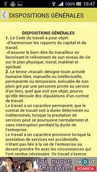 Code du travail de Haïti apk screenshot