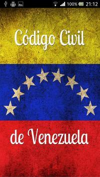 Código Civil de Venezuela poster