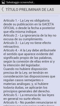Código Civil de Venezuela screenshot 1