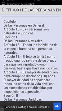 Código Civil de Venezuela screenshot 2