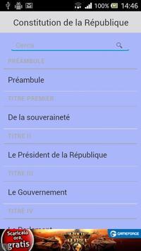 Constitution Française screenshot 1
