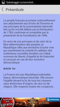 Constitution Française screenshot 2
