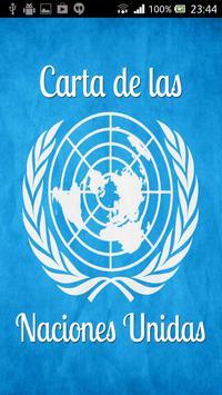 Carta de las Naciones Unidas poster