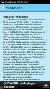 Carta de las Naciones Unidas screenshot 2