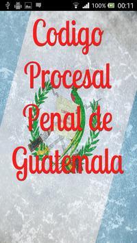 Procesal Penal Guatemala poster