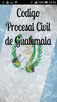 Procesal Civil Guatemala poster