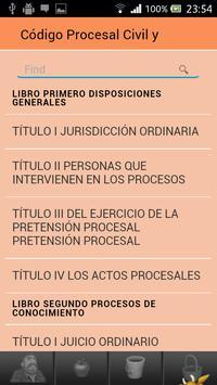 Procesal Civil Guatemala apk screenshot
