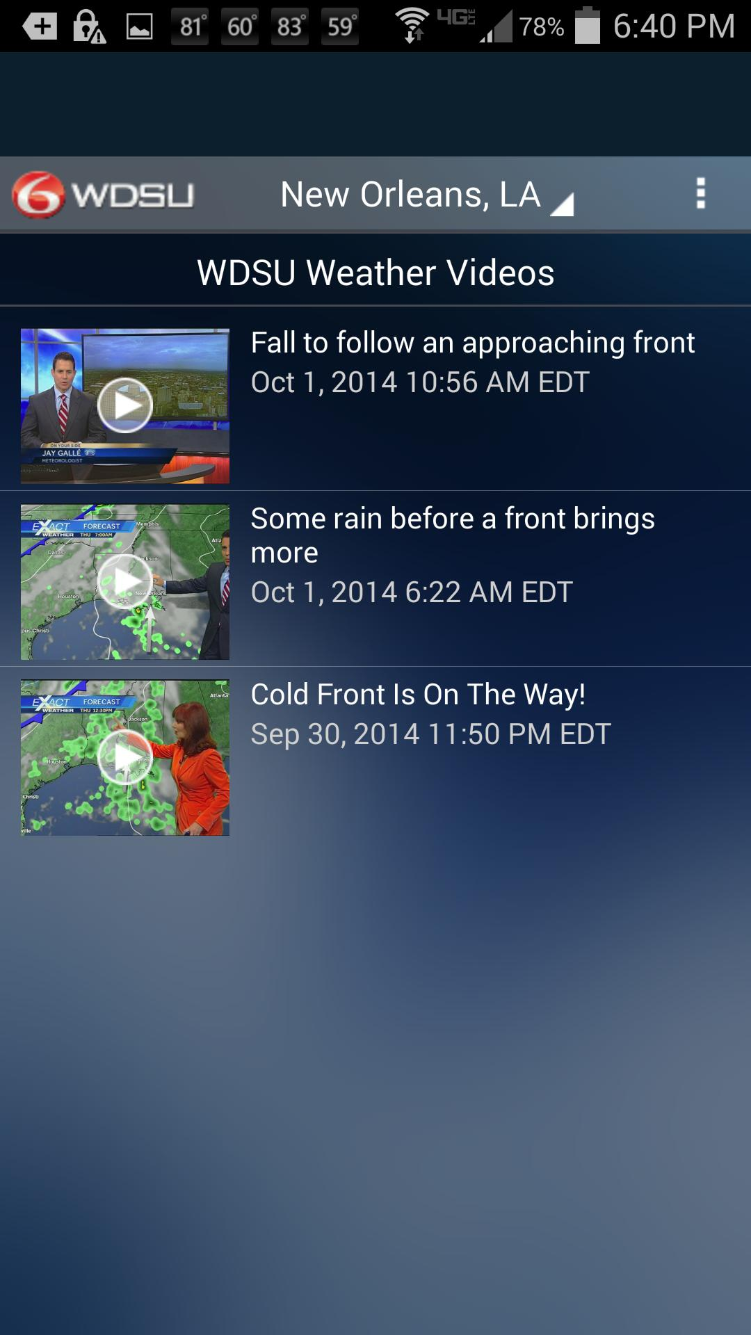 WDSU Weather for Android - APK Download