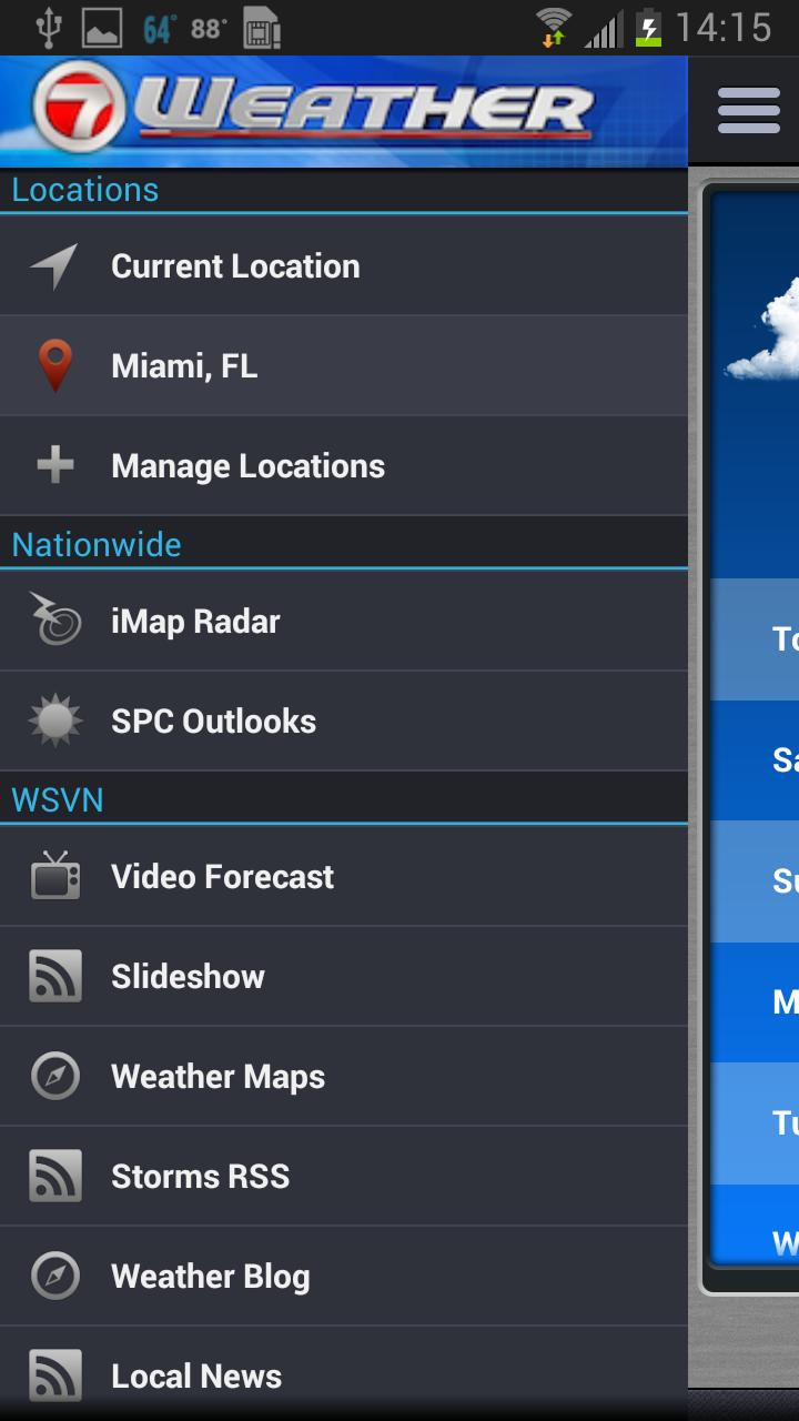 WSVN • South Florida's Weather for Android - APK Download