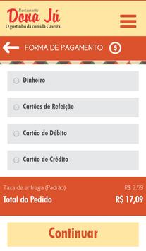Restaurante Dona Jú apk screenshot