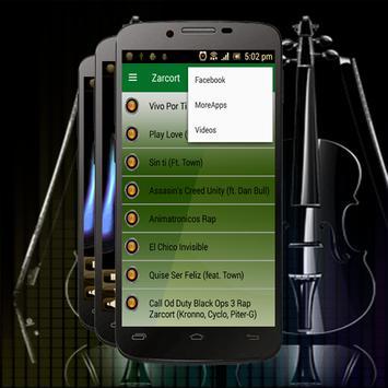 Zarcort Musica - VIVO POR TI screenshot 1