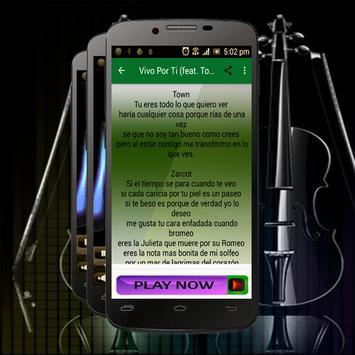 Zarcort Musica - VIVO POR TI screenshot 2