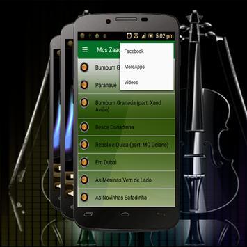 Mcs Zaac e Jerry Musicas-Bumbum Granada apk screenshot
