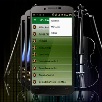 Musica MCs Pikeno Toda Toda Letras apk screenshot