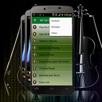 Musica MC Tati Zaqui Letras screenshot 1