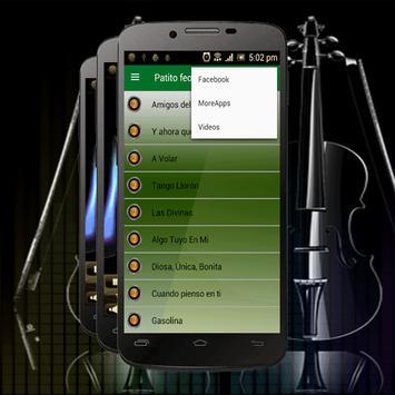 Patito feo Letras de Canciones apk screenshot