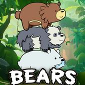 We Are Bear Cartoon Adventure 2017 icon