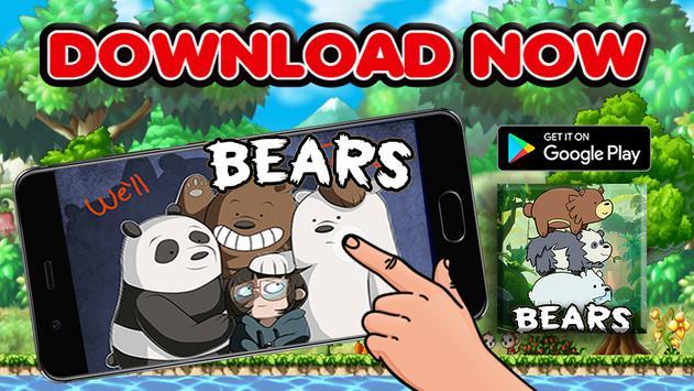 We Are Bear Cartoon Adventure 2017 apk screenshot