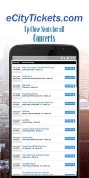 eCity Tickets screenshot 1
