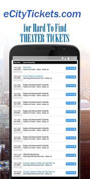 eCity Tickets apk screenshot