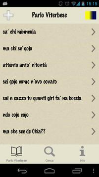 Parlo Viterbese apk screenshot