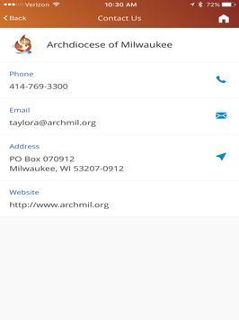 Archdiocese of Milwaukee apk screenshot