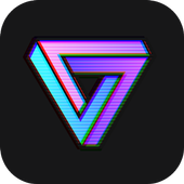 ikon VaporCam-Glitch, Estetika, Vaporwave Foto Editor