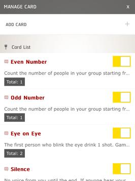 Drunk Card apk screenshot