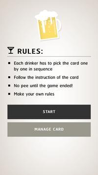 Drunk Card poster