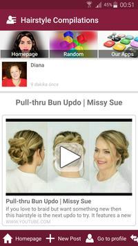 Hair style salon womens hairstyle beauty tips screenshot 4