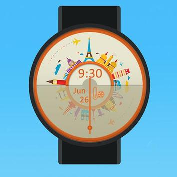 Travel Watch Face for Wear poster