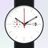 White Plate Watch Face icon