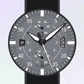 Gray Space Watch Face icon