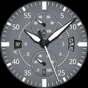 Gray Space Watch Face apk screenshot