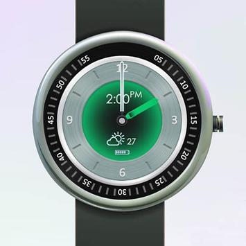 Multicolor Watch Face poster