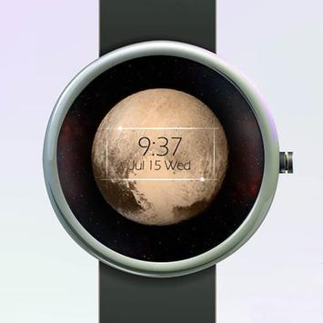 Pluto Watch Face poster