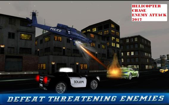 Helicopter Chase Enemy Attack 2017 screenshot 10