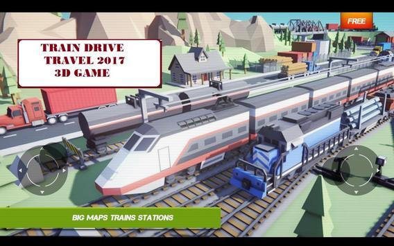 Train Drive Travel 2017 3D Game apk screenshot