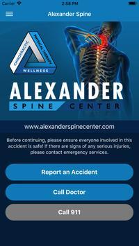 Alexander Spine poster