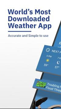 The Weather Channel: Live Forecast & Radar Maps poster