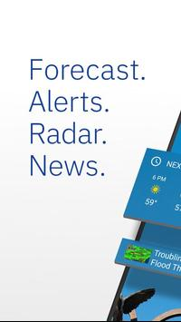 The Weather Channel: Rain Forecast & Storm Alerts poster