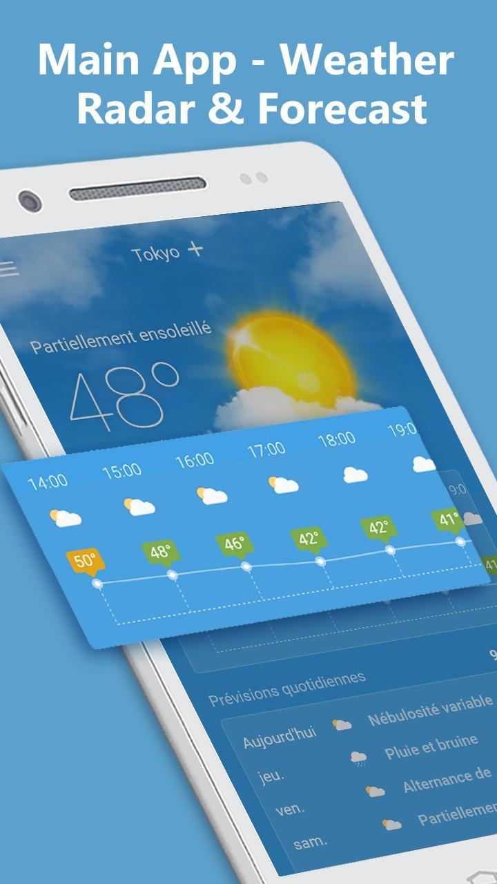 Weather & Clock Widget Free S8 for Android - APK Download