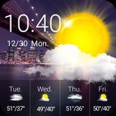 تنزيل Weather Clock Widget Samsung APK 1 0 0 للموبايل