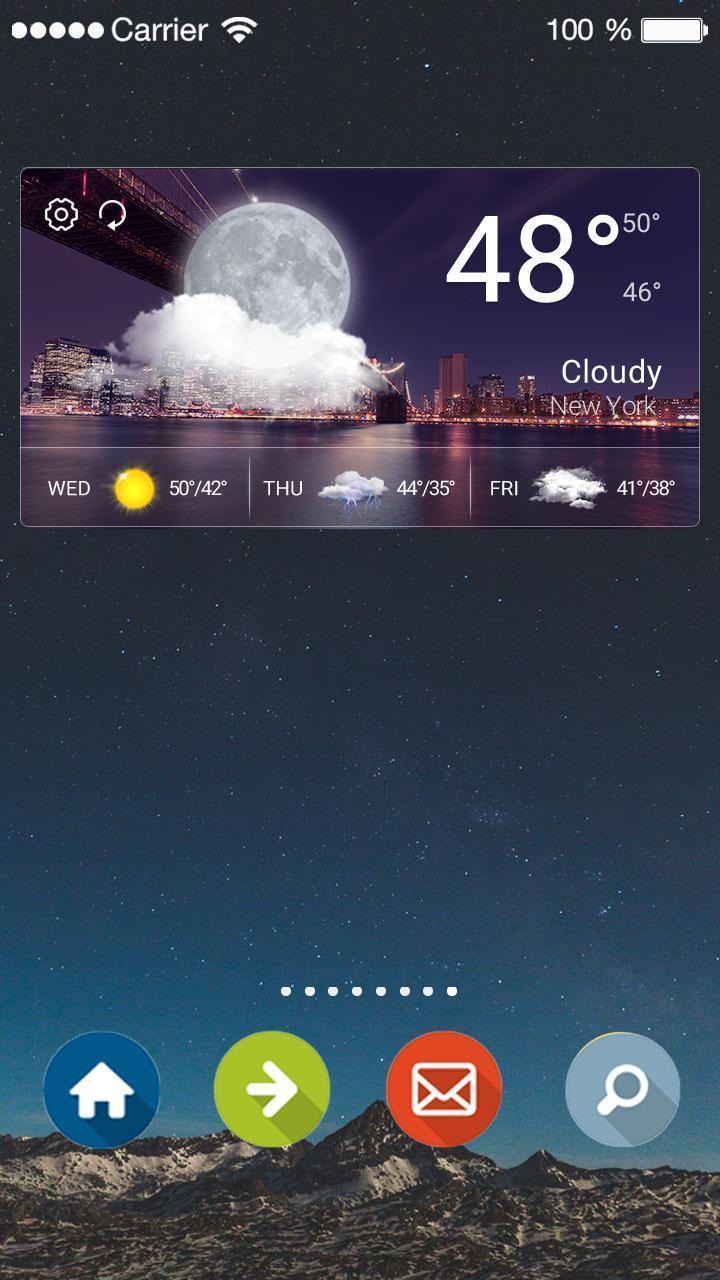 Weather Clock Widget Samsung for Android - APK Download