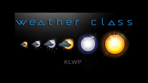 Komponent Weather Class poster