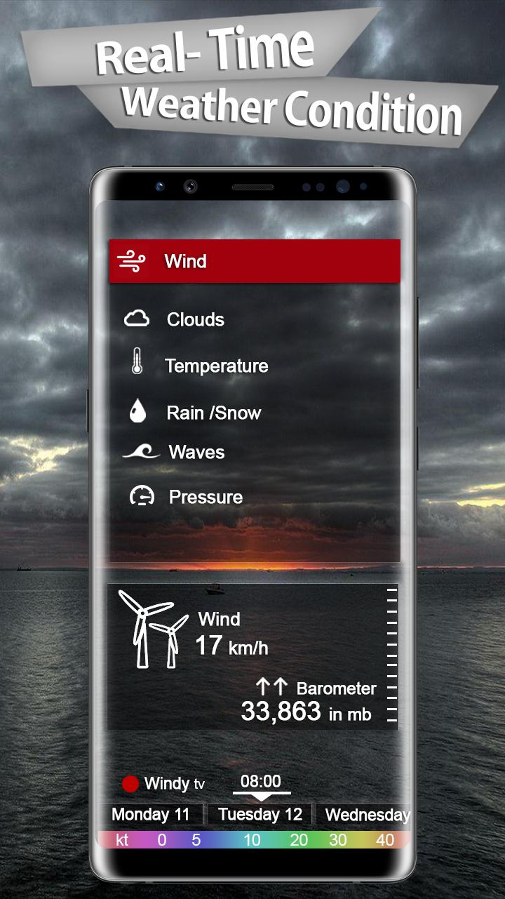 Real Time Live Weather Forecast & Weather Alerts for Android