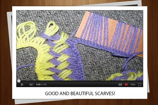 Knitting Scarf apk screenshot